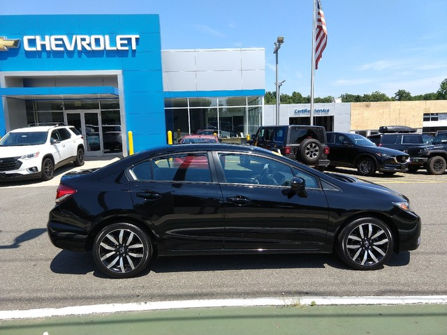 Pre-Owned 2015 Honda Civic Sedan EX-L