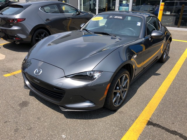 Certified Pre-Owned 2017 Mazda MX-5 Miata RF Launch Edition