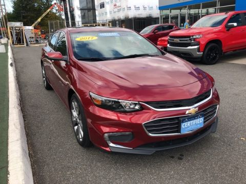 Pre-Owned 2017 Chevrolet Malibu Premier Front Wheel Drive 4dr Car