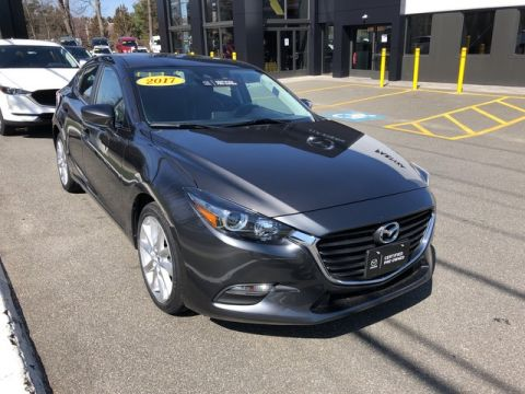 Certified Pre-Owned 2017 Mazda3 4-Door Touring Front Wheel Drive Sedan