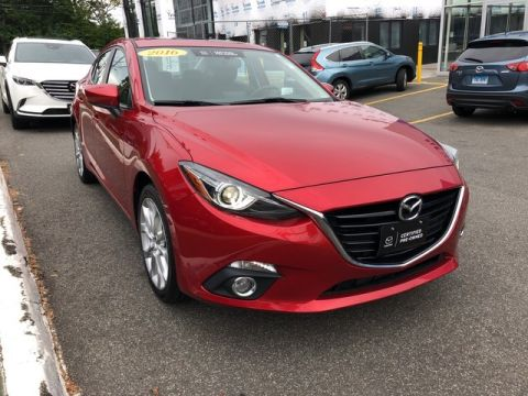 Certified Pre-Owned 2016 Mazda3 s Grand Touring Front Wheel Drive Sedan
