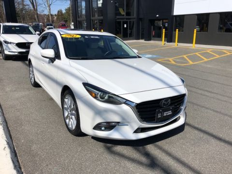 Certified Pre-Owned 2017 Mazda3 4-Door Grand Touring Front Wheel Drive 4dr Car