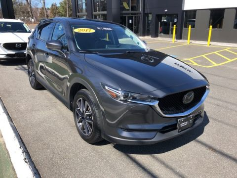 Certified Pre-Owned 2017 Mazda CX-5 Grand Touring With Navigation & AWD