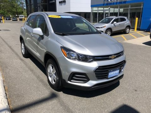 Pre-Owned 2018 Chevrolet Trax LS AWD